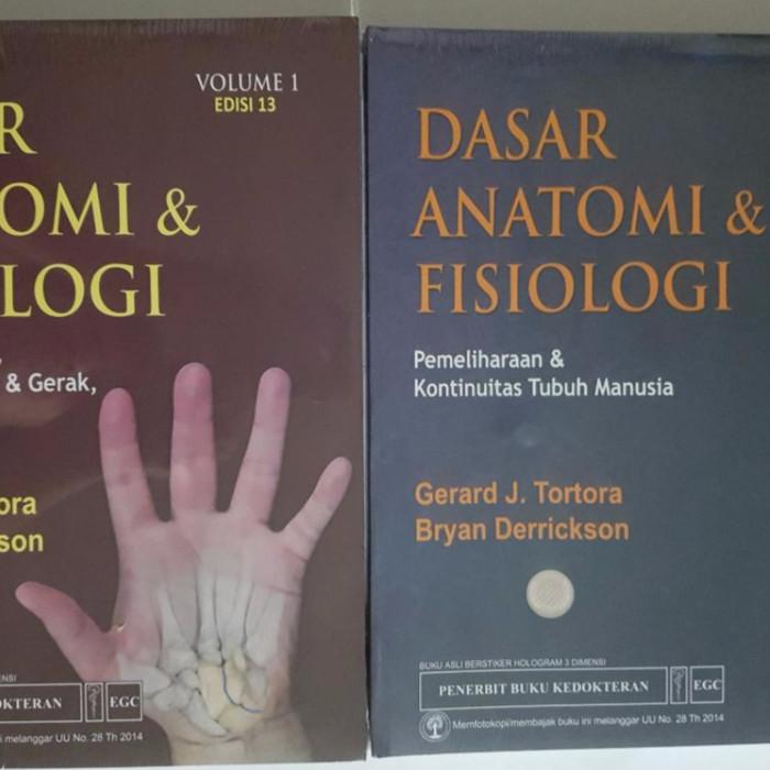 harga [original] dasar anatomi & fisiologi vol.1+2  ed.13 - tortora Tokopedia.com