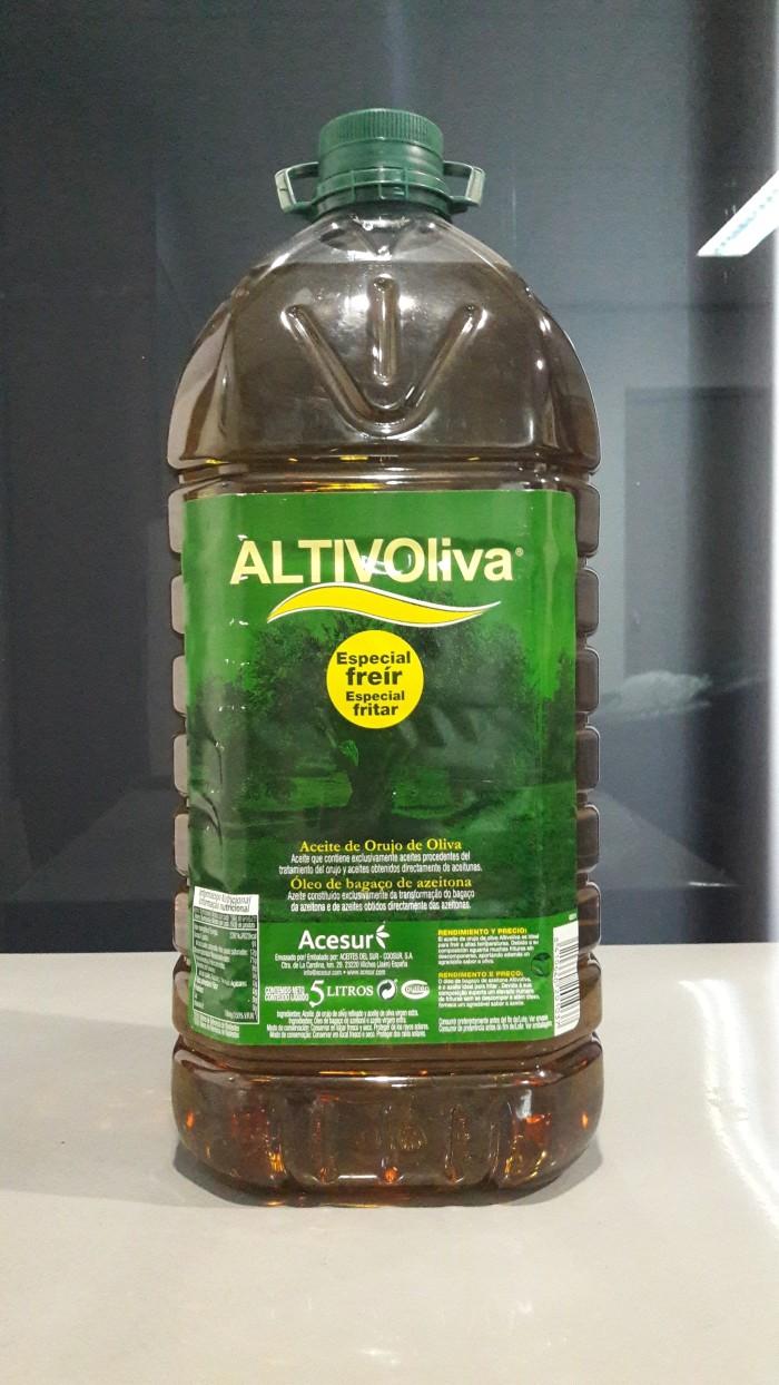 Olive oil / minyak zaitun murni altivolia 5 liter