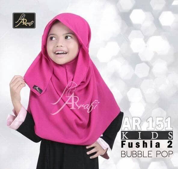 Hijab Ar Rafi AR 151 kids Hijab Anak jilbab Couple kerudung syar\u0027i