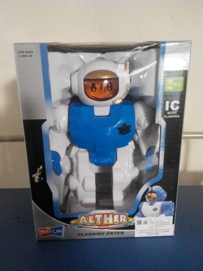 harga Mainan diecast robot / robot astronot aether Tokopedia.com