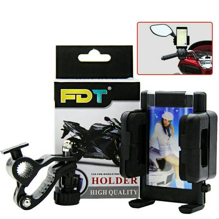 harga Fdt holder motor sepeda di pasang di stang Tokopedia.com