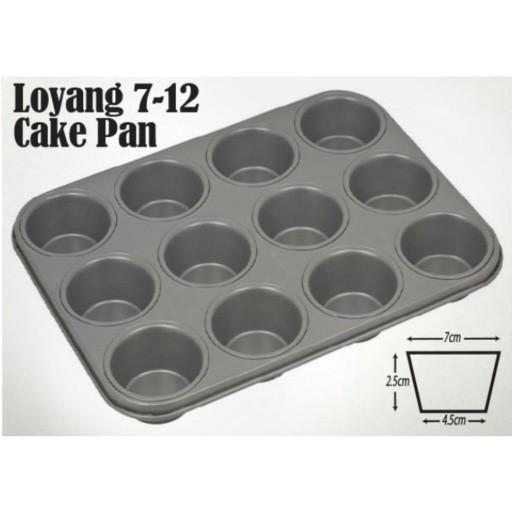 harga Loyang 7-12 cake pan Tokopedia.com