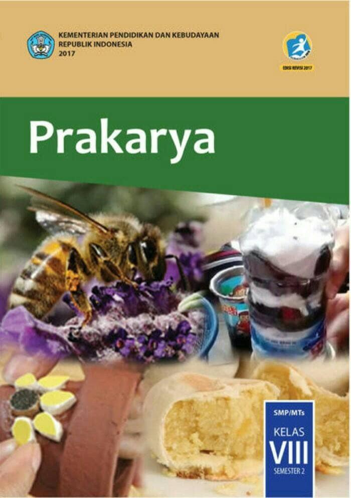 Foto Produk Prakarya Kelas 8 SMP Revisi 2017 Semester 2 dari Gerai Buku Sekolah