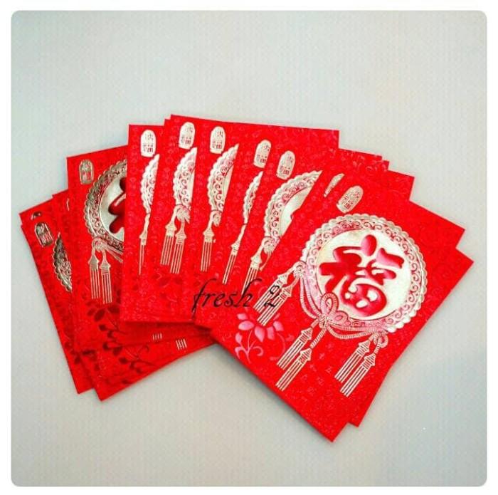 harga Angpao hoki bahan kertas lembut/angpao imlek Tokopedia.com