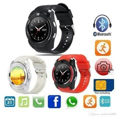 harga Smartwatch v8 jam tangan android jam olahraga sport kado natal spesial Tokopedia.com