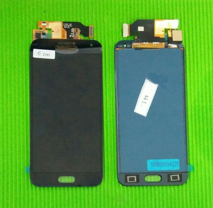 Jual Lcd Samsung E5 Aaa Hitam Phpcempaka Tokopedia