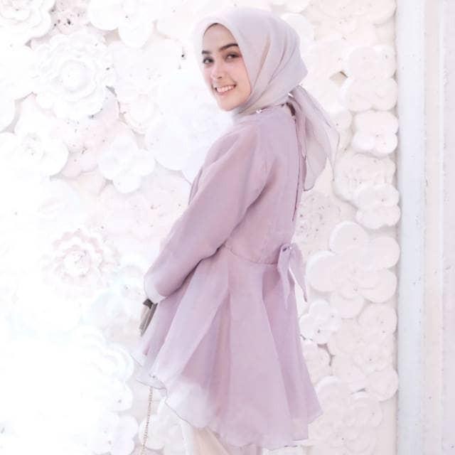 Jual Fashion Wanita Baju Atasan Vinny Blouse Pesta Organza Kota Bandar Lampung Aisya Fashion Shop Tokopedia
