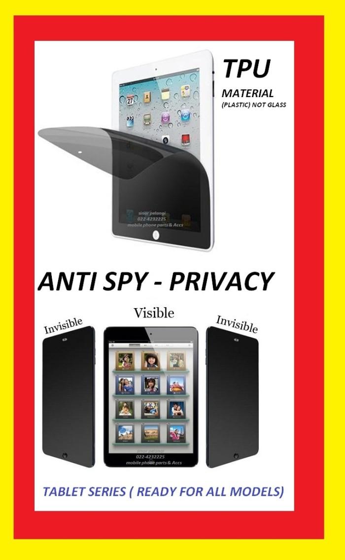 Jual Universal 7 Inch Anti Gores Spy Gelap Hitam Screen Guard 000341 Standar Laptop Protector Hp Tempered Glass Pelindung Layar