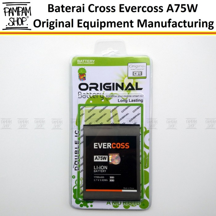 harga Baterai evercoss a75w original double power winner y1 evercross cross Tokopedia.com