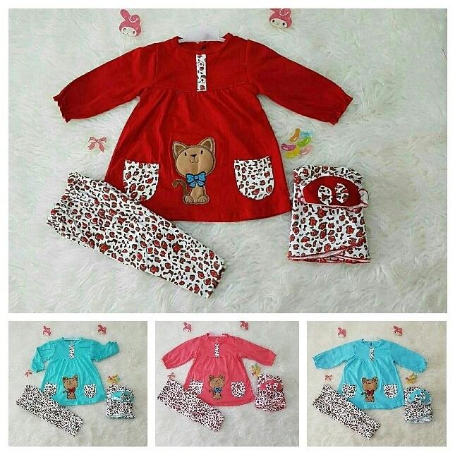 harga Grosir baju muslim bayi / setelan baju muslim baby girl Tokopedia.com