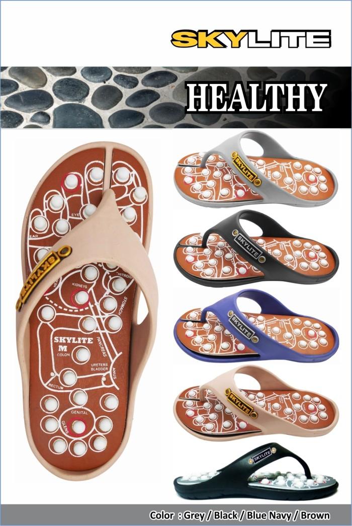 Foto Produk Sandal Skylite Healthy - Hitam Abu, 9.5 S dari SIANTARMAJU dot COM