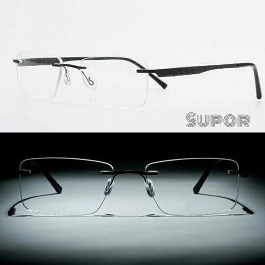 Jual Frame kacamata Korea frameless Titanium kaca mata RIMLESS Minus ... e8236d92fb