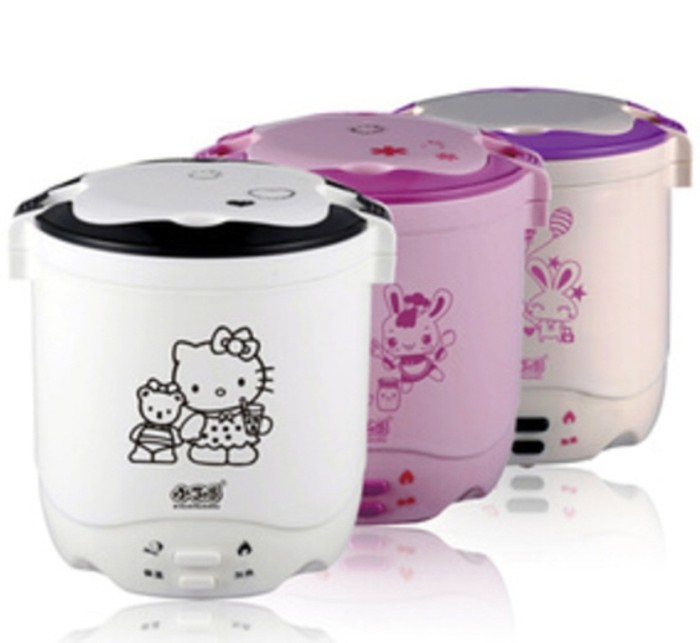 harga Rice cooker mini hello kitty pemasak nasi portable perebus telur moody Tokopedia.com