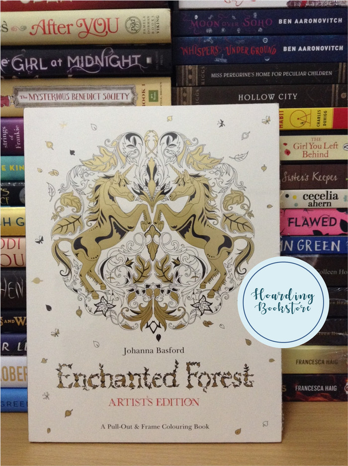 Coloring Book Enchanted Forest Artists Edition By Johanna Basford