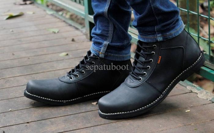 Katalog Sepatu Boot Kulit Hargano.com