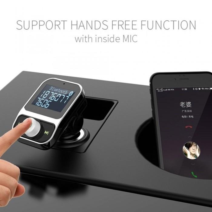 harga Bluetooth car charger fm transmitter dual usb mp3 player wireless hy88 Tokopedia.com