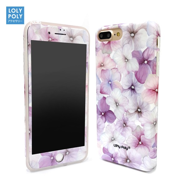 Jual Lolypoly 2 In 1 Case Marble + Anti Gores Iphone 8+ / 8 Plus Harga Promo Terbaru