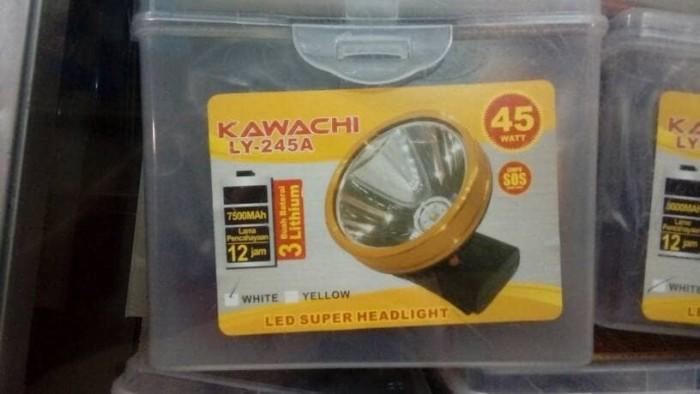 harga Senter cas kepala super led kawachi ly 245a 45w 45 watt bat lithium Tokopedia.com