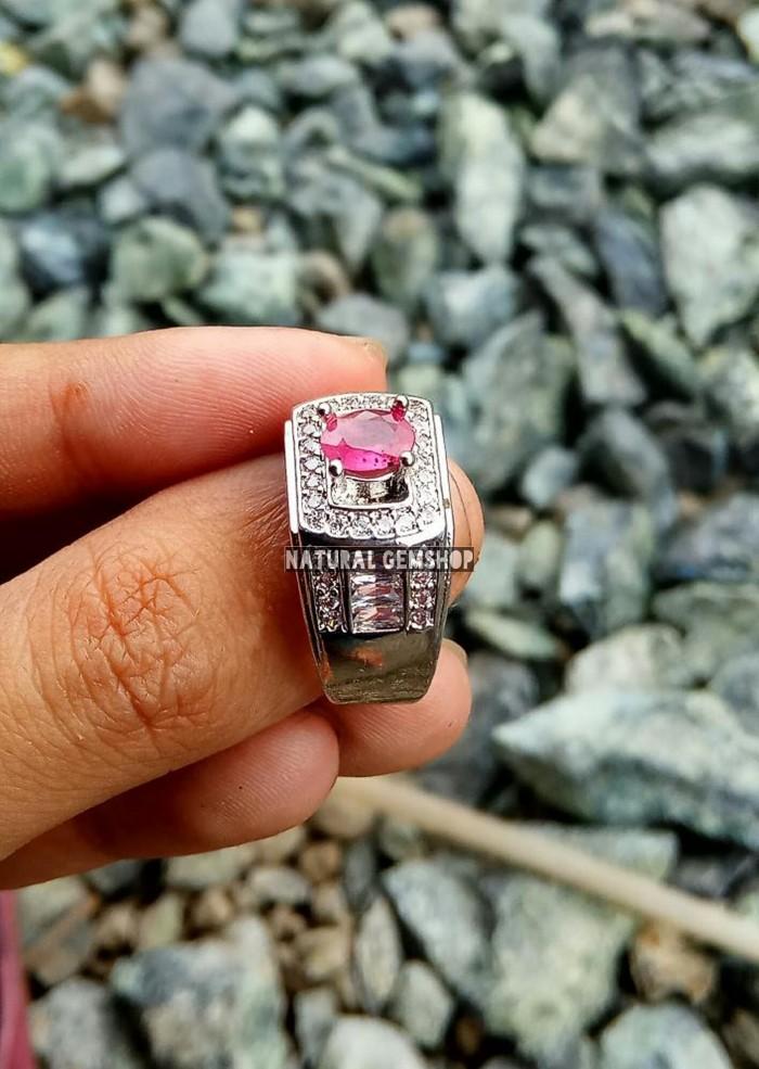 harga Termurah  ruby asli zamrud asli emerald beryl colombia ring mewah Tokopedia.com