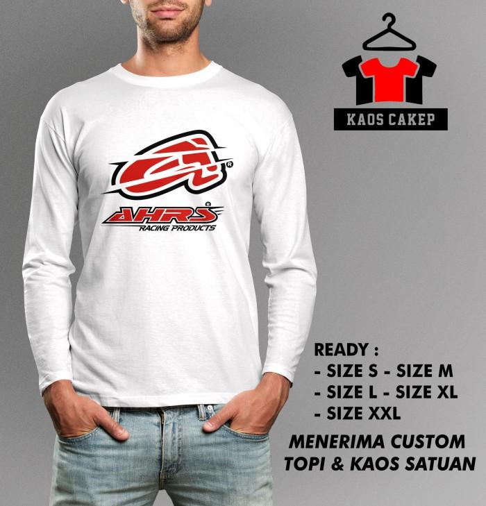 Kaos AHRS Racing Lengan Panjang Murah Keren e61ac12d52