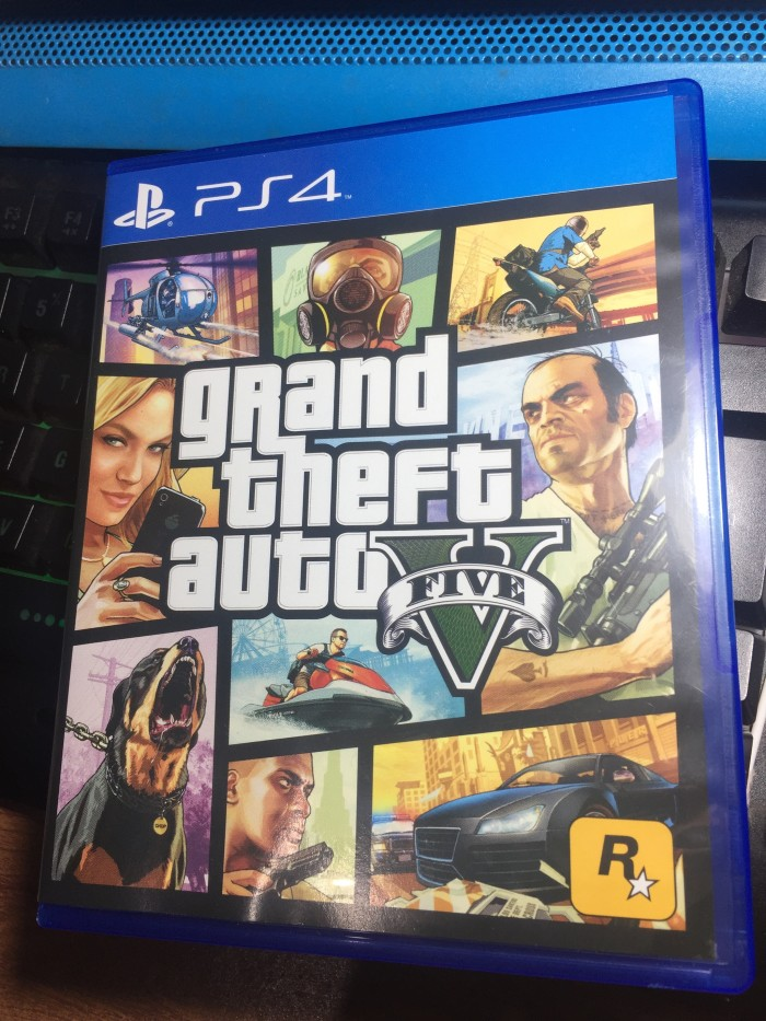 06314b80d Jual Kaset Blu-Ray Disc BD Grand Theft Auto Five V 5 GTA PLAYSTATION ...