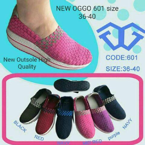 harga Oggo 601 wedges ori sepatu rajut Tokopedia.com