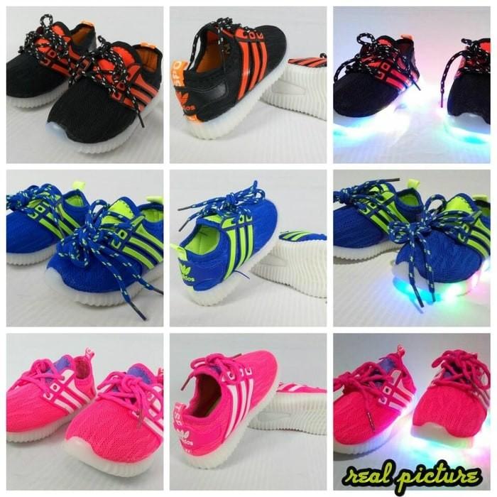 Jual Terbaru dan Terlaris Sepatu LED   Sepatu Anak Lampu - ADIDAS ... b89b06d2b0