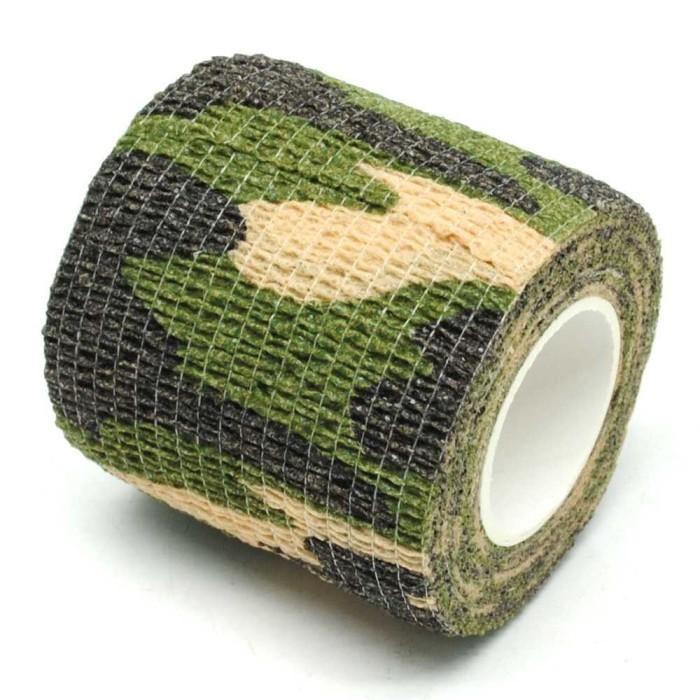 harga Lakban ajaib kamuflase ~ reusable magic tape [hijau tentara] Tokopedia.com