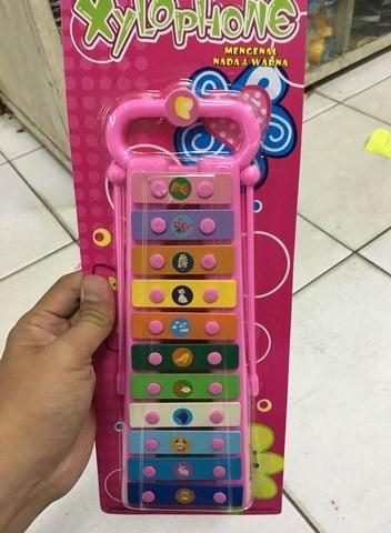 Mainan anak alat musik xylophone ...