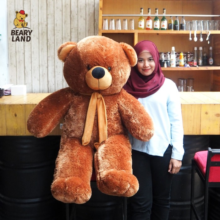 harga Boneka beruang coklat super jumbo (kualitas bagus) Tokopedia.com