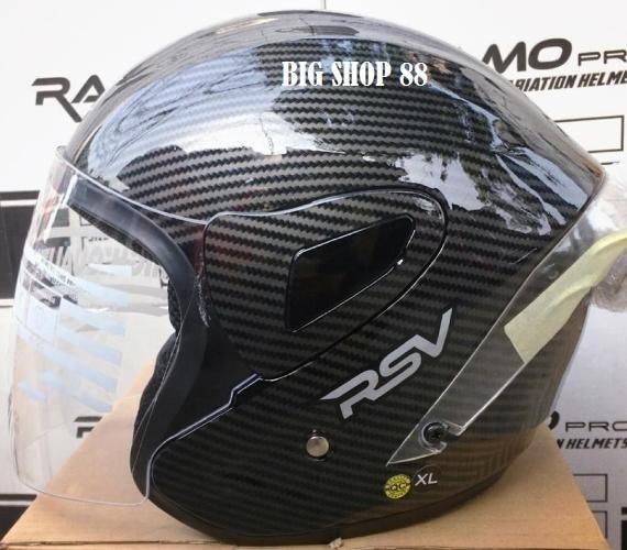 harga New helm rsv motif carbon with spoiler agv Tokopedia.com