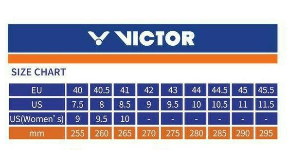 Jual Keterangan Ukuran Sepatu Victor Kota Mataram Virya Sport