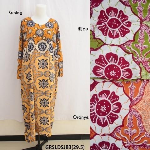 Grosir Long Dress Jumbo Baju Daster Pakaian Tidur Batik Pekalongan 3
