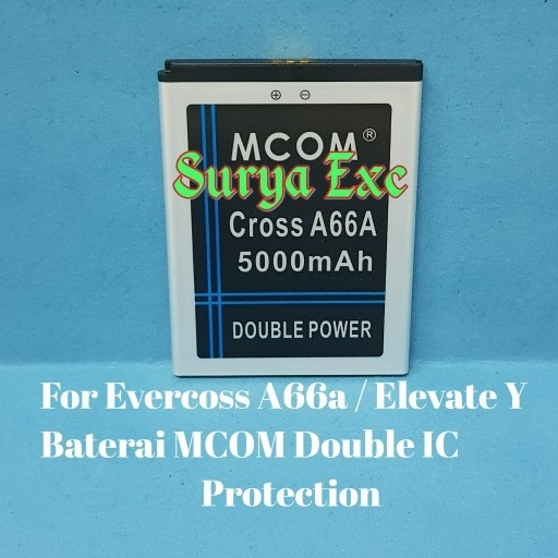 harga Baterai evercoss cross a66a / evercoss elevate y double ic protection Tokopedia.com