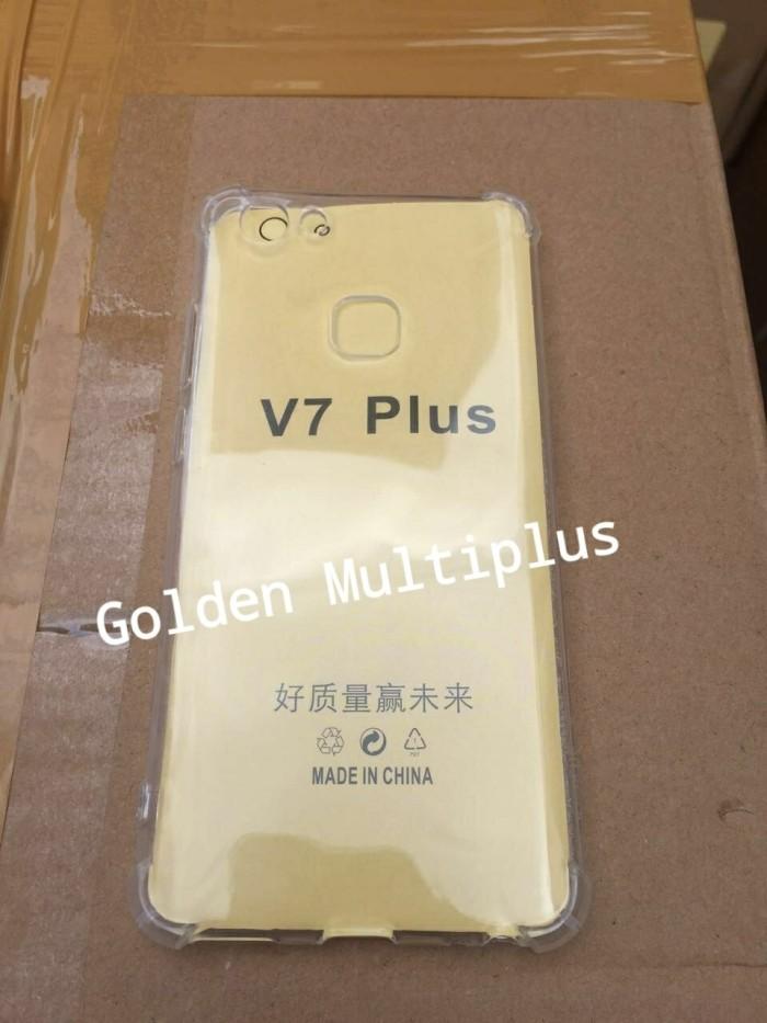 Case Silikon Anticrack Vivo V7 Plus Softcase Anti Crack Krek Vivo V7+