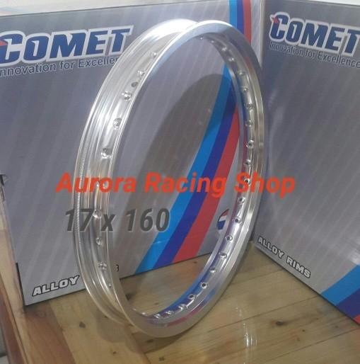 harga Velg - rim comet w shape 17 x 160 warna silver Tokopedia.com