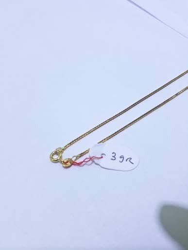 Kalung Emas Kuning 70 Berat 3 Gram Model Itali Panjang 42cm