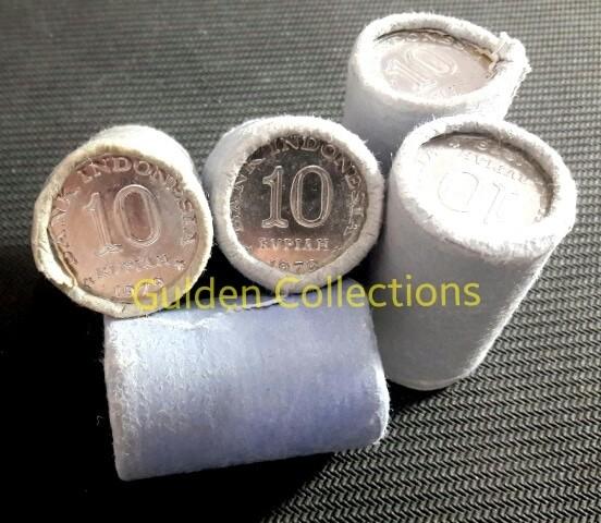 harga 1 Roll Uang Kuno Koin Indonesia 10 Rupiah 1979 UNC Mahar Pernikahan Tokopedia.com
