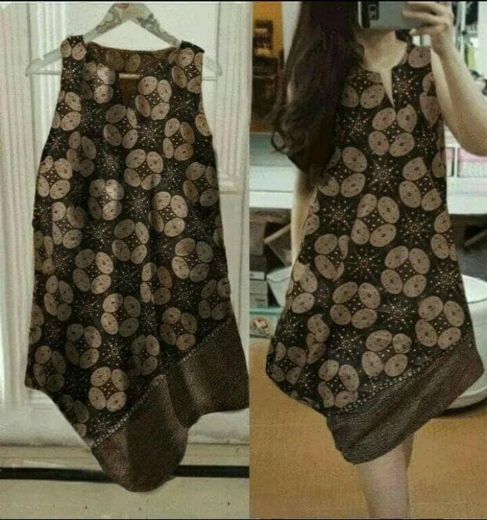 harga Dress midi/mini batik modern etnik unik cute simple santai/casual Tokopedia.com