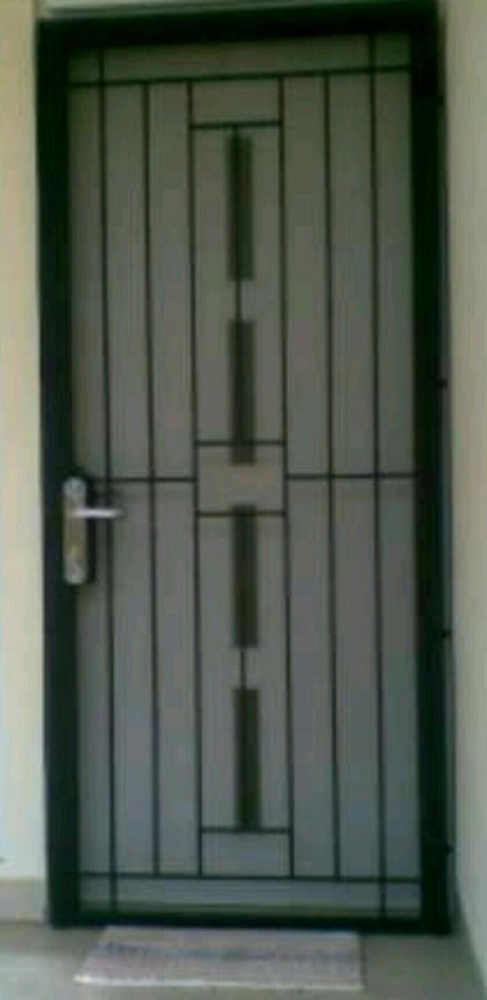 Jual Pengaman Pintu Doble Minimalis Kota Tangerang Selatan Mulya Decor