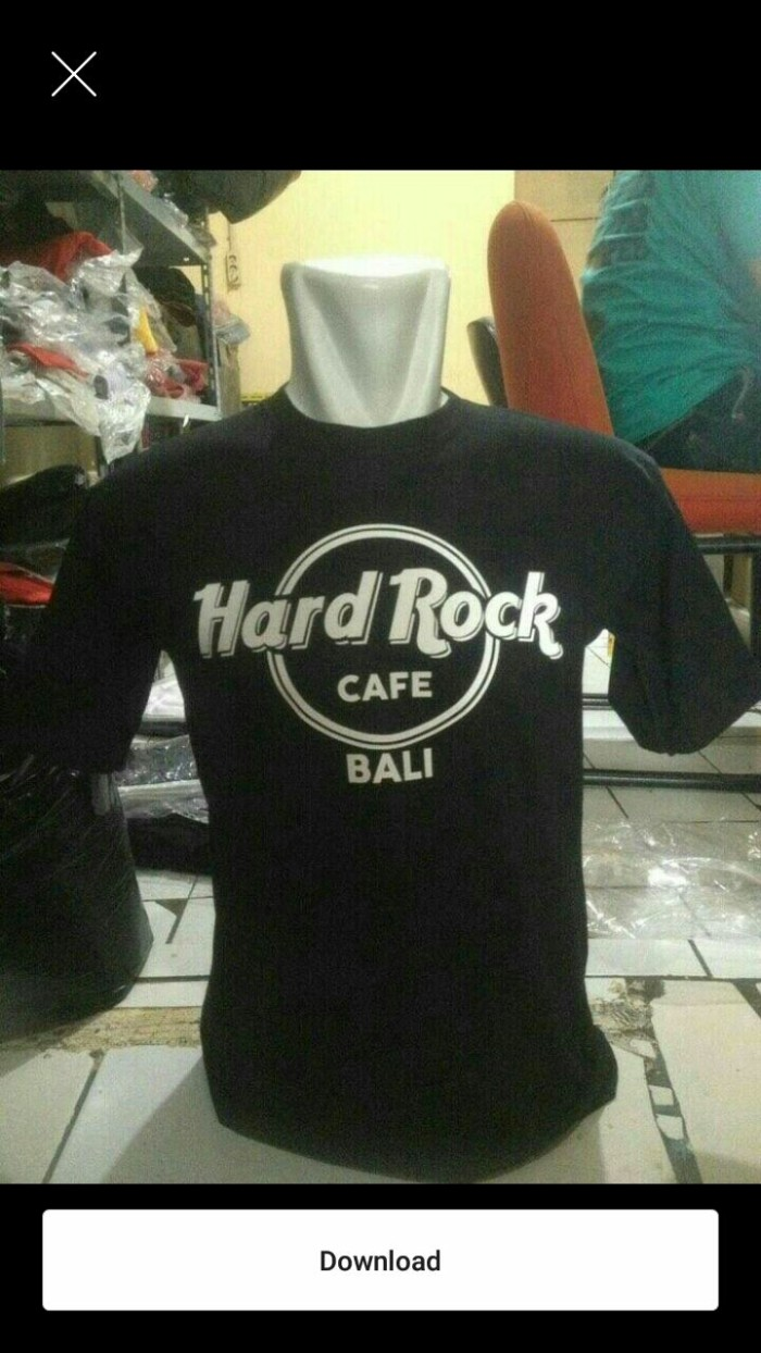 Jual Kaos Hardrock Bali Jakarta Timur Lia Olshopping