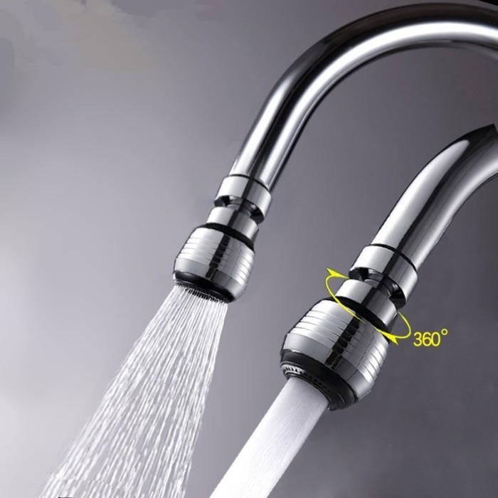 Water Saving Filter/ Saringan Keran Putar/360 Rotate Air Kran Wastafel