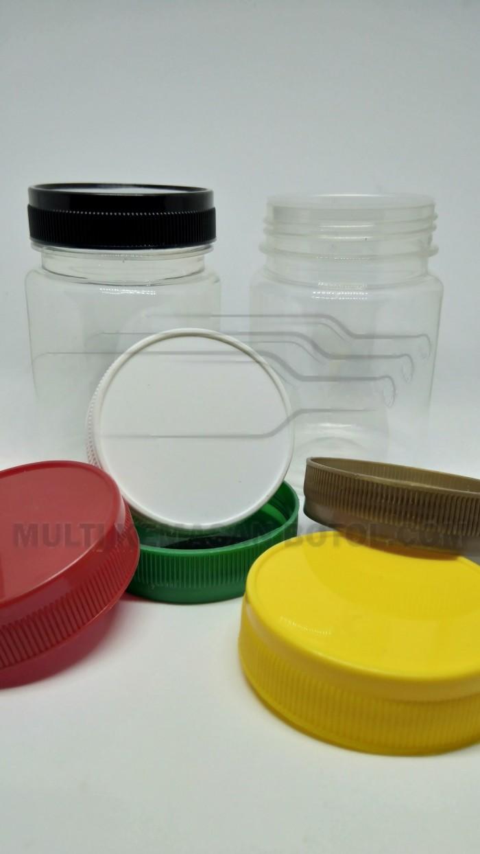 Jual Botol Toples Plastik Pet 200ml Bulat Selai Sambal