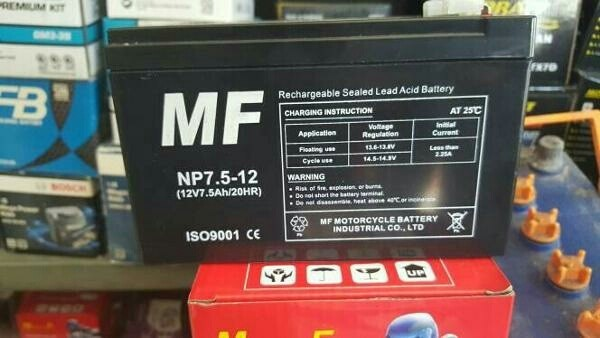 harga Aki battery ups dan sepeda listrik 12v 7.5 ah Tokopedia.com