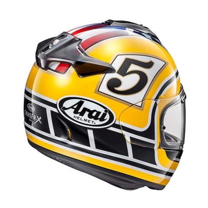 Arai Vector-X Coliin Edward Legend Helm Full Face - Yellow 1