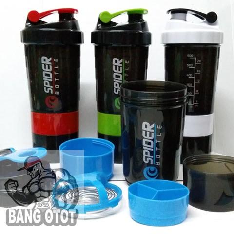 harga Smart Shaker Smartshake Fitness Spider Bottle 600 Ml 600ml 27 Oz 27oz .