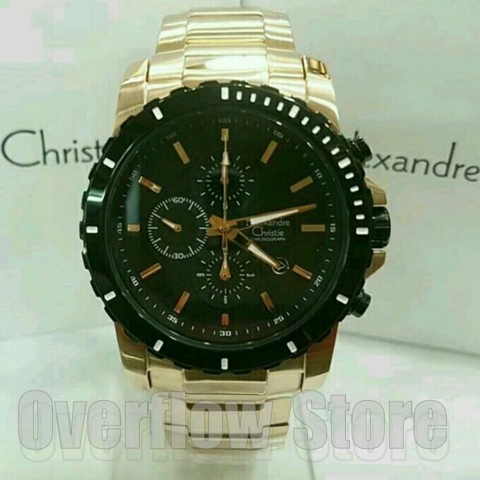 harga Jam tangan alexandre christie ac 6141 rosegold original Tokopedia.com