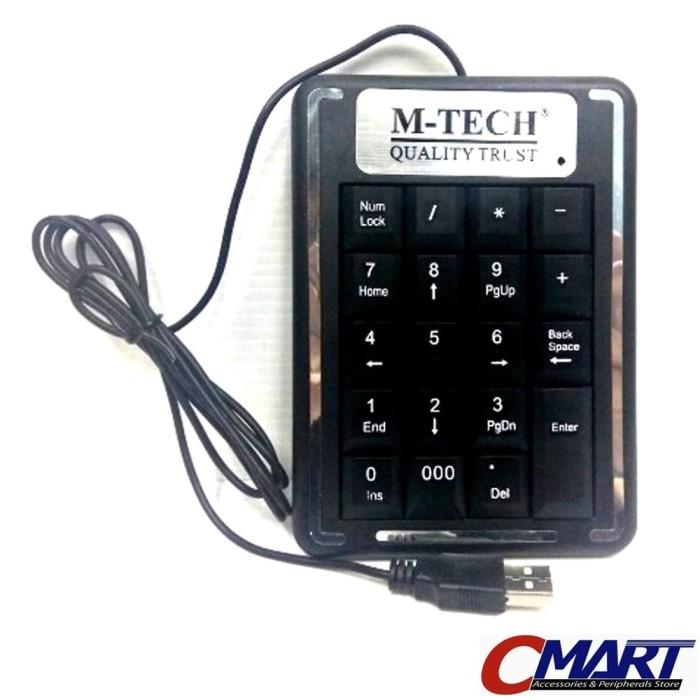 harga M-tech numpad numeric keypad usb numerik keyboard - mtc-key-kj07 Tokopedia.com