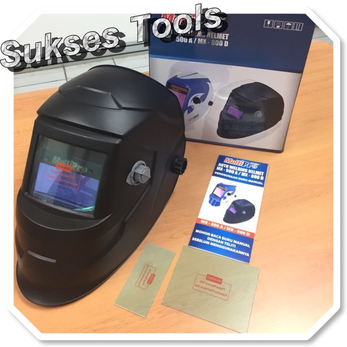 Multipro - Kedok Las Auto / Auto Welding Helmet MX 500A
