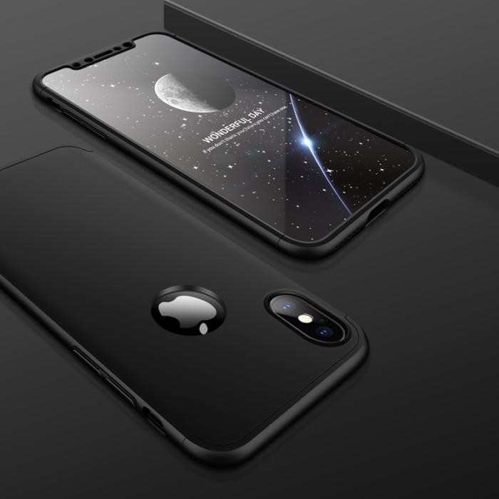 Foto Produk 360 protection slim matte case For Iphone X dari importking